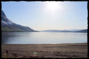 Narvikissa rannalla