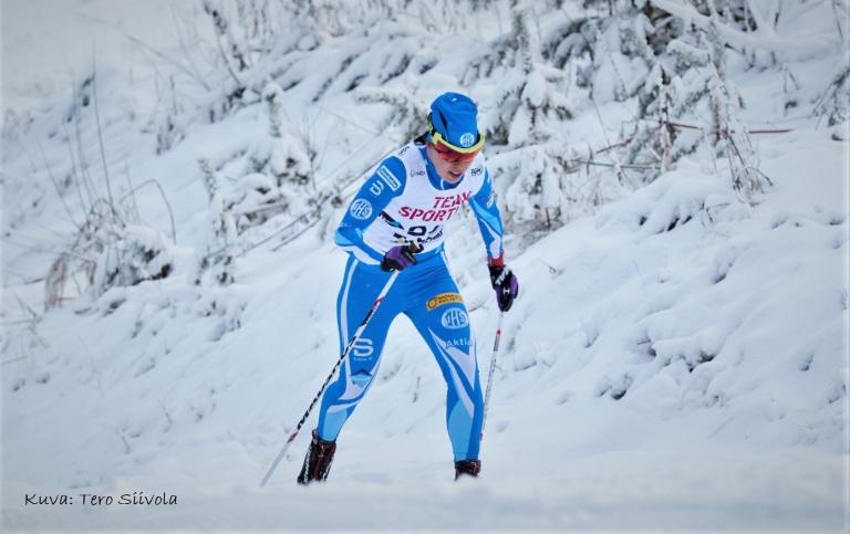 Elisa Pelttari Rovaniemen Suomen Cup 2017